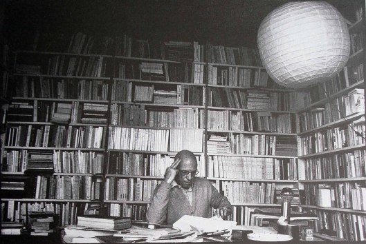 Foucault nel suo studio